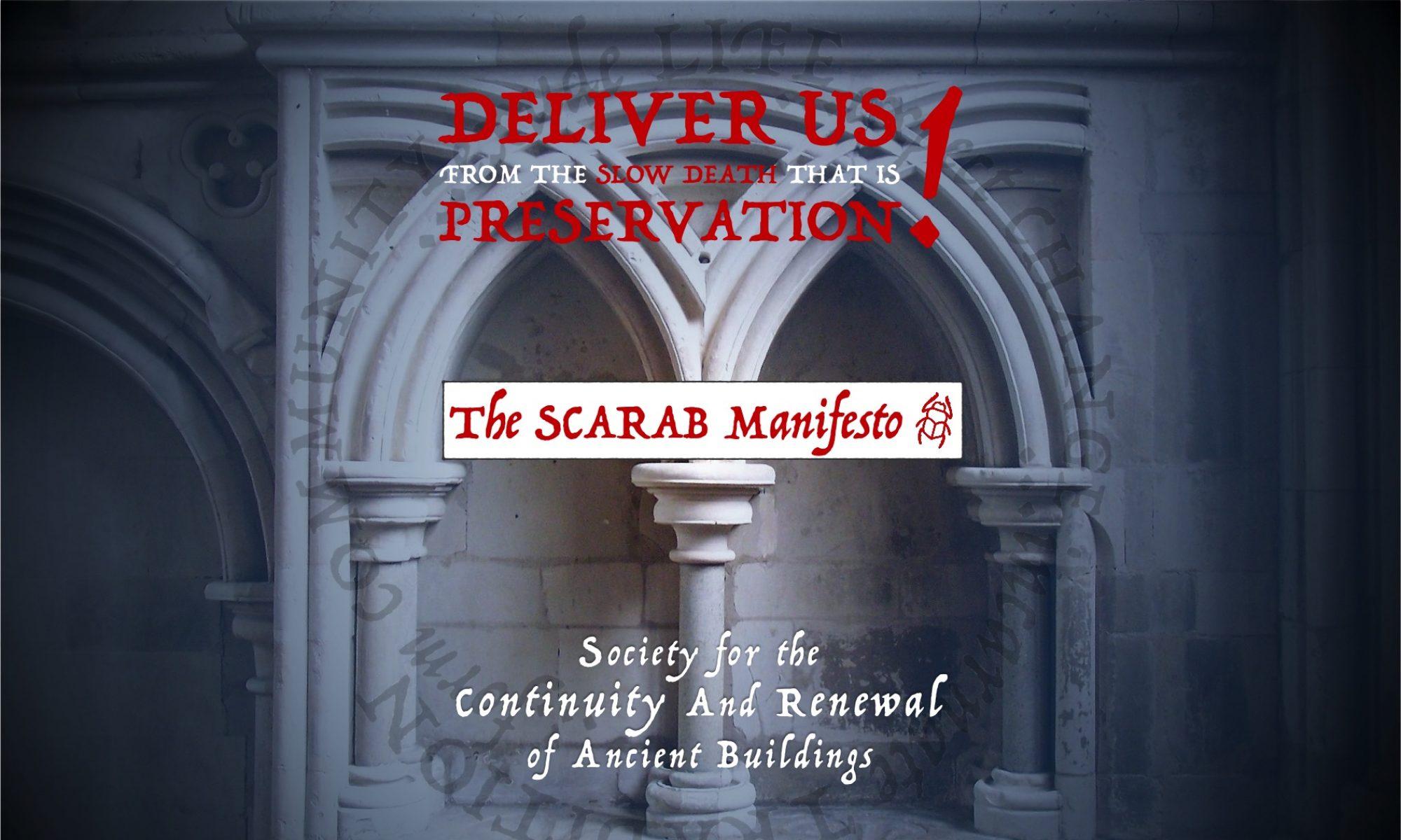 SCARAB Manifesto